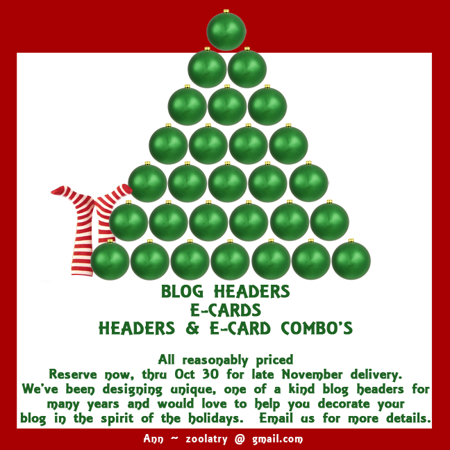 Holiday Headers/Ecards/Combos