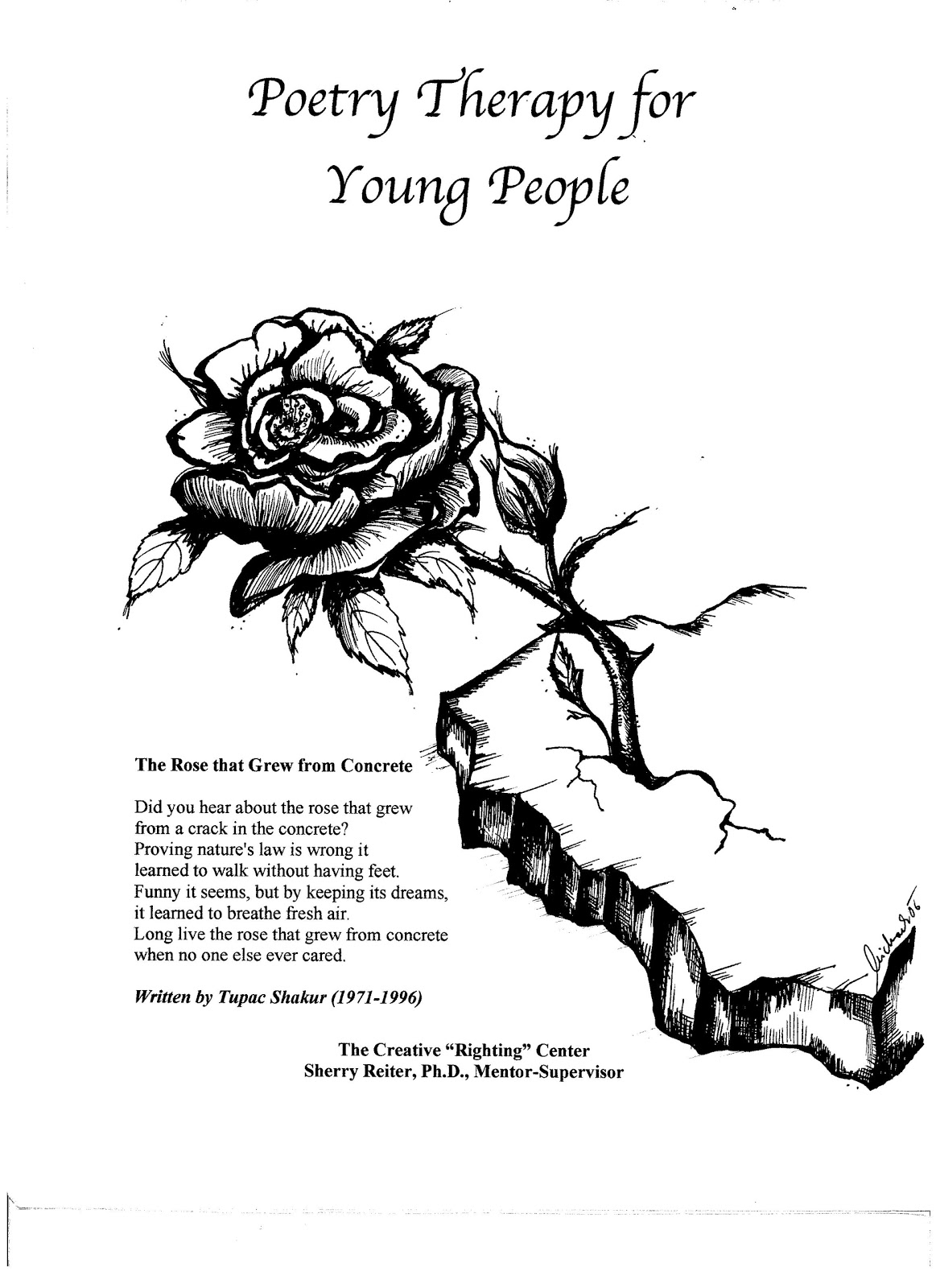 """an analysis of tupac shakurs the rose that grew from concrete And analysis of relevant content image of a rose growing from concrete an example of """"the rose that grew from concrete,"""" tupac shakur uses the image."""