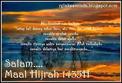 Salam Maal Hijrah 1435 dari relaks minda