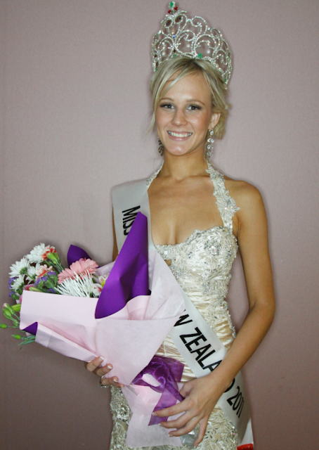 Miss World New Zealand 2011 winner