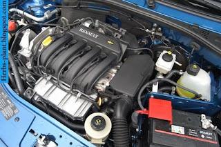 Renault sandero car 2013 engine - صور محرك سيارة رينو سانديرو 2013