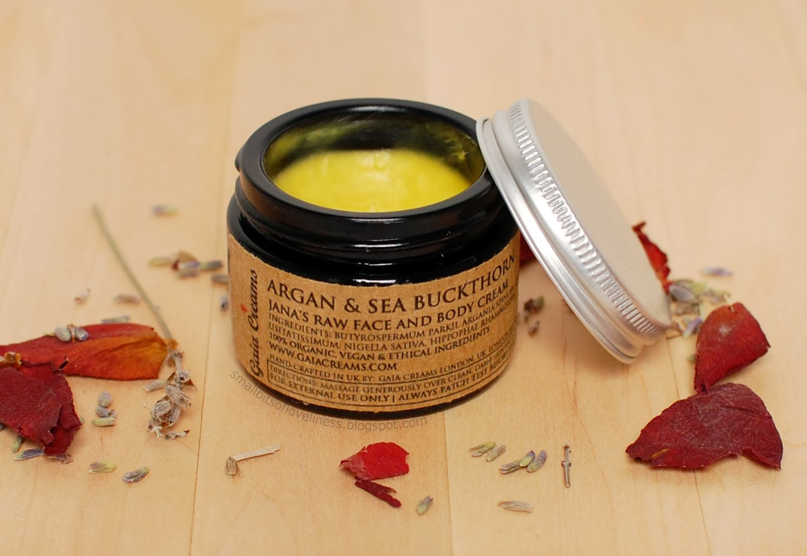 Gaia Creams Argan & Sea Buckthorn Raw Face and Body Cream