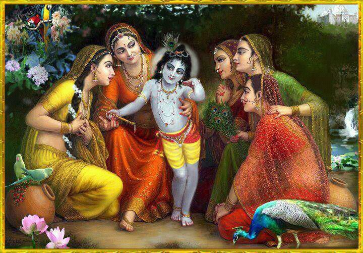 HariHarji: 'Shri Krishna Karnamrita': Ninth Shloka