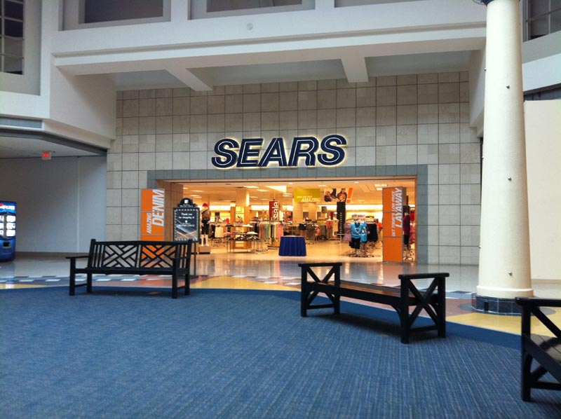 Sears 2011 12 Store Closings in the Southeast  Many already featured on Sky  City. Sky City  Southern and Mid Atlantic Retail History  Sears 2011 12