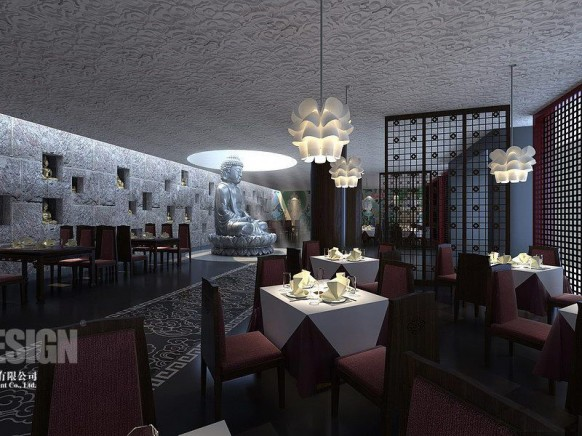 Chinese Restaurant Decoration Ideas : Architectuaral designing march
