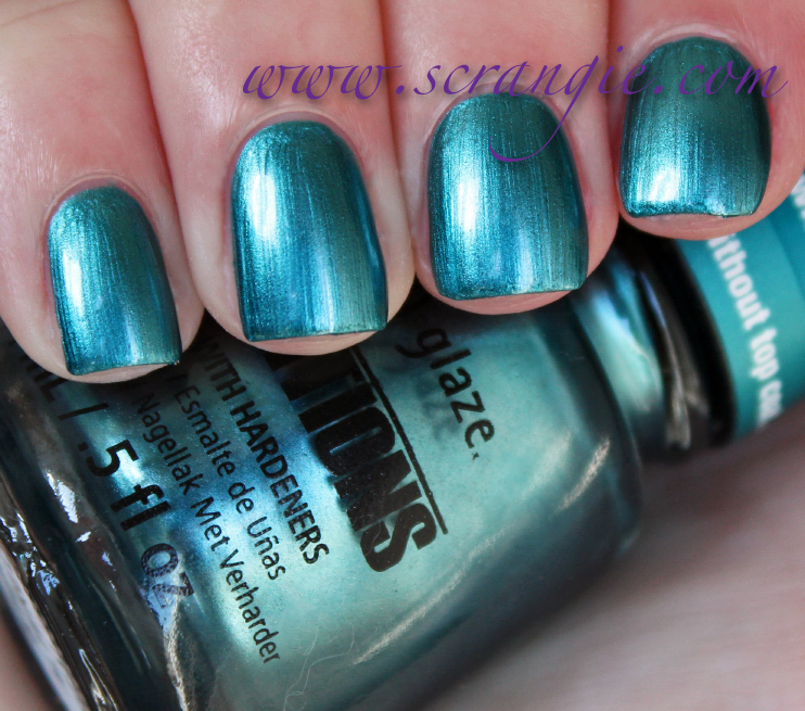 China Glaze Tranzitions Color-Changing Nail Lacquer ... - Scrangie
