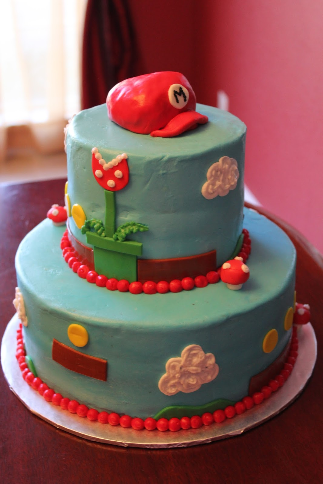 A Blissful Bash Mario Bros Brothers Birthday Cakes