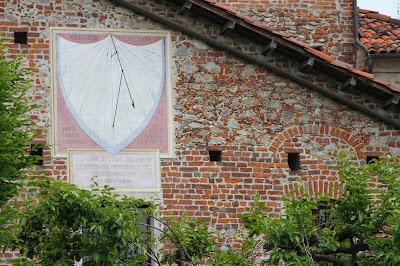 Sundial in Fossano, Italy