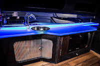 London Motor Group first powerboat customisation: Project Noire interior 3