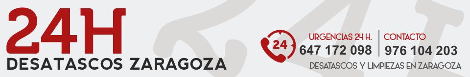 Desatascos en Zaragoza · GRATIS SI NO DESATASCAMOS