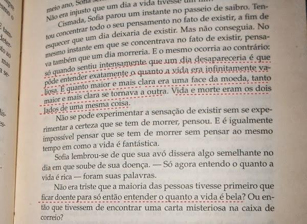 trecho, livro O Mundo de Sofia, Jostein Gaarder, ler online