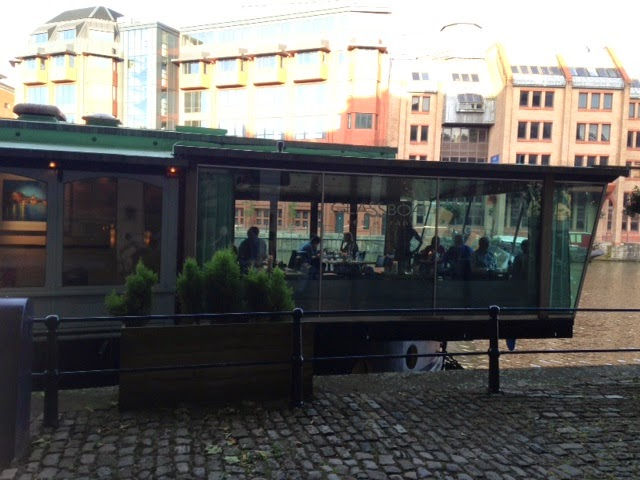 Review of the Glassboat restaurant in Bristol by Avon Gorged