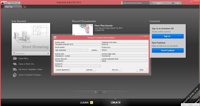 Autodesk AutoCAD 2015 Sp2 32 Bit 64 Bit Full Version