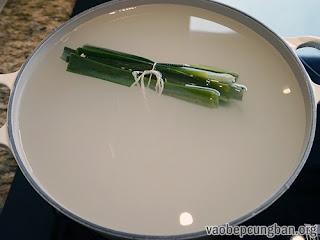 Mát lạnh với chè bột báng thơm ngon3