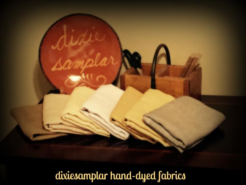 dixiesamplar hand~dyed fabrics