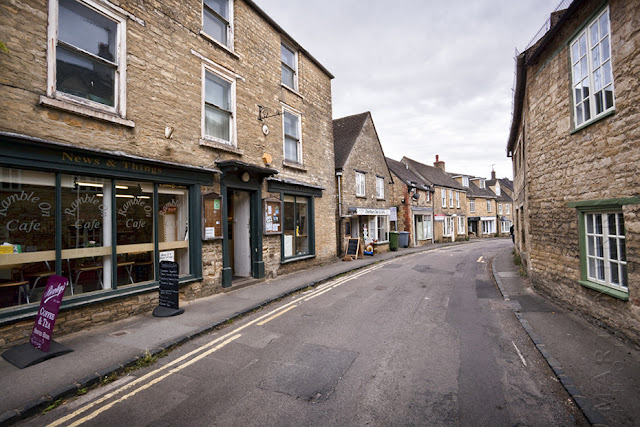 Sheep Street in Charlbury by Martyn Ferry Photography