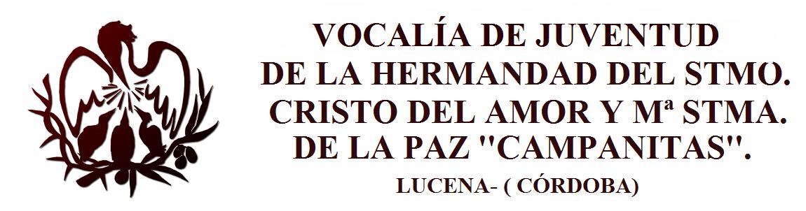 VOCALÍA DE JUVENTUD AMOR Y PAZ LUCENA