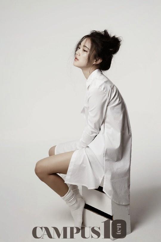 Son Soo Hyun - Campus10 Magazine April Issue 2014