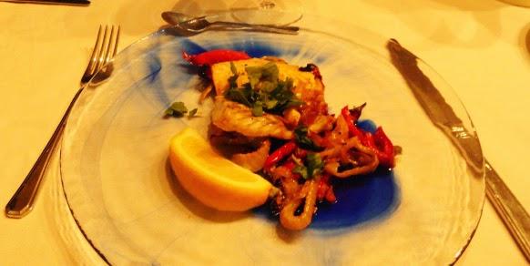 oven roasted barramundi+vegetables