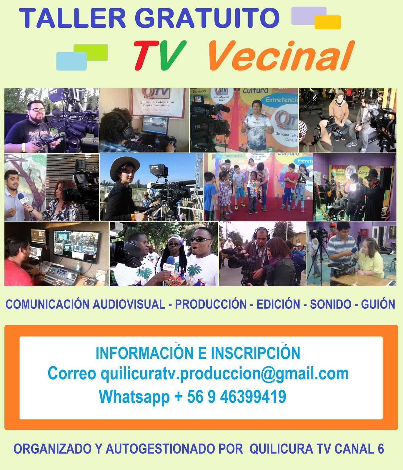 TALLER DE TV VECINAL Gratuito