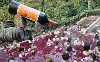 Wine Spa Pool of Tokyo, Japan