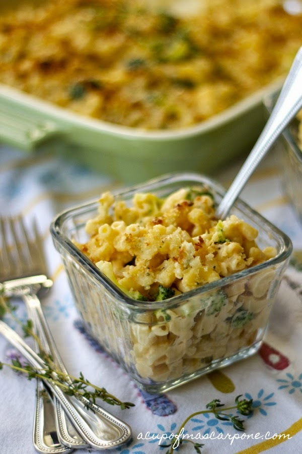 ultimate mac 'n' cheese with butternut squash & broccoli florets ...