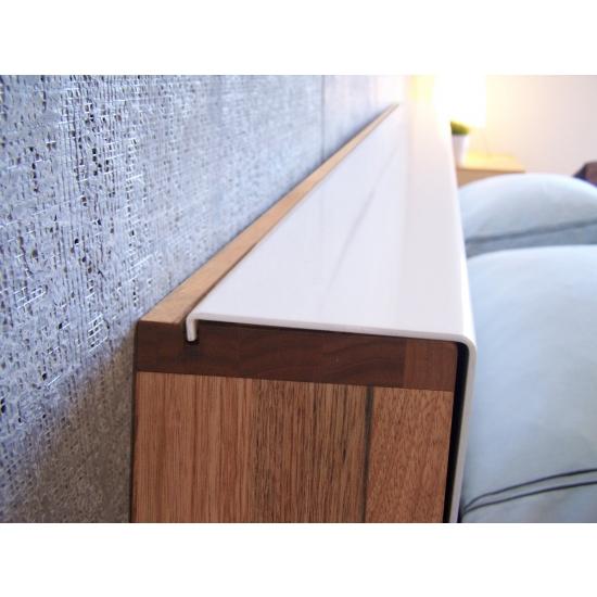 mash studios lax wall mounted headboard and platform