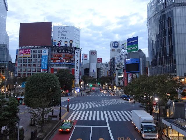 渋谷スクランブル交差点,渋谷109〈著作権フリー無料画像〉Free Stock Photos