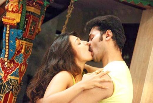Hot Tamanna Lip Kiss
