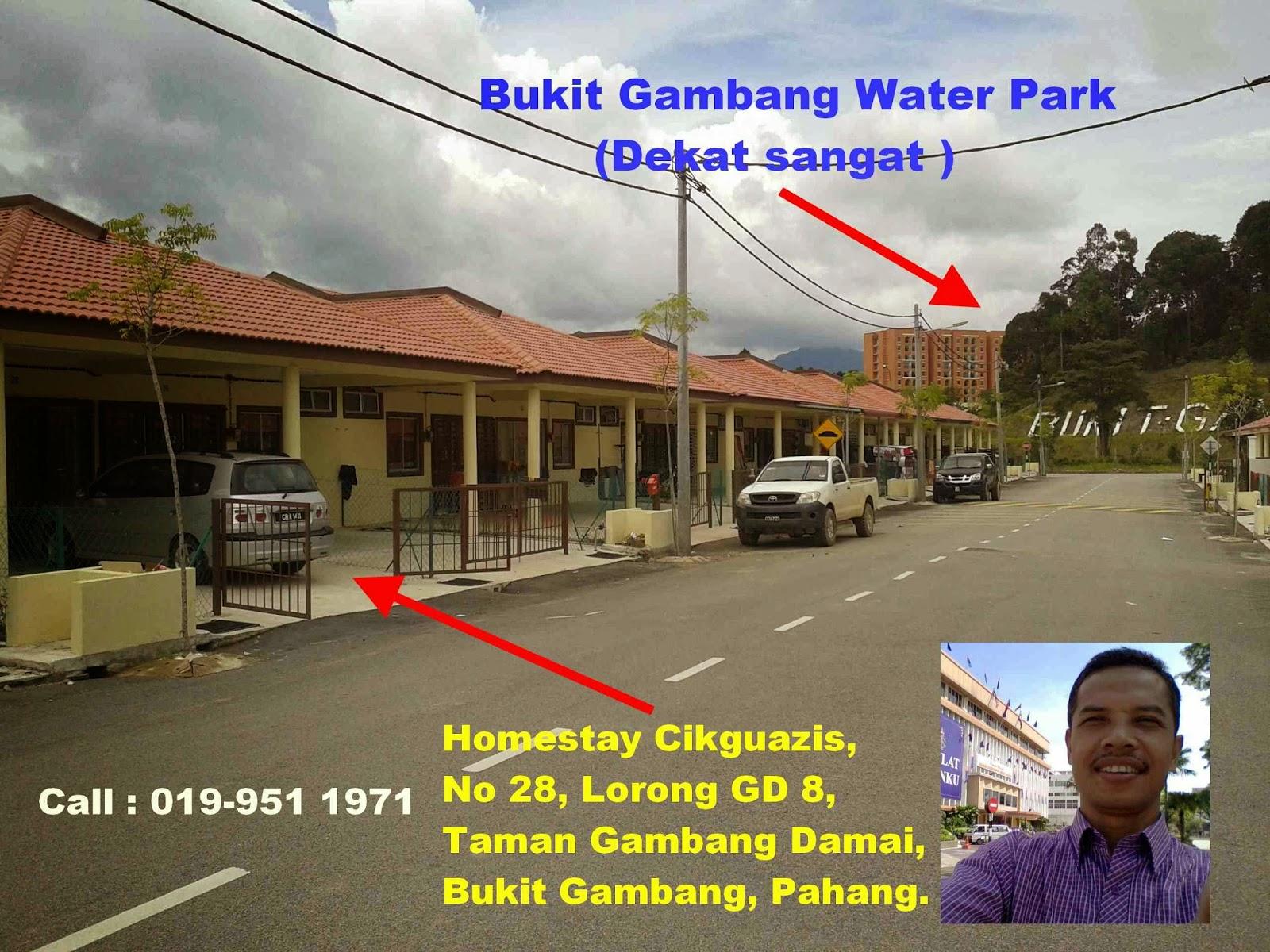 Homestay Murah Di Bukit Gambang RM165 Satu Malam Call Cikguazis 019 951 1971 Dua Boleh Kurang Lagi 7 Hari Seminggu Harga Sewa Sama