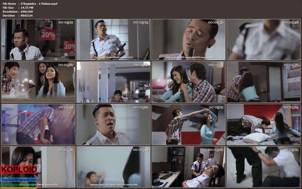 Download Video Klip Musik D'Bagindas - 1 Malam MP4