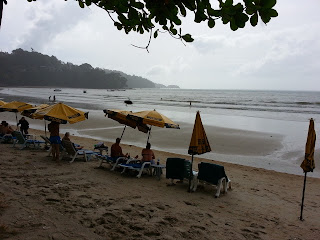 Patong Beach on 9 August 2013