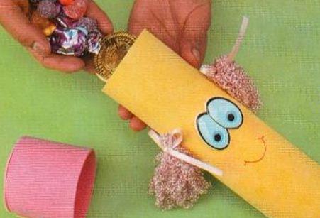 Dulceros en foamy para niños | Solountip.