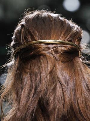 peinados con accesorios de moda 2013