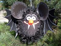 Piniata na Halloween - Nietoperz