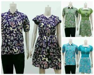 baju batik pasangan