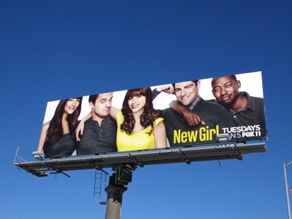New Girl season 5 billboard