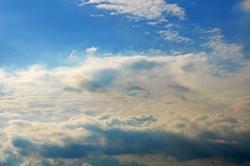 Wolkenlandschaft...