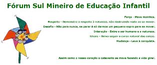 Fórum Sul Mineiro de Educação Infantil