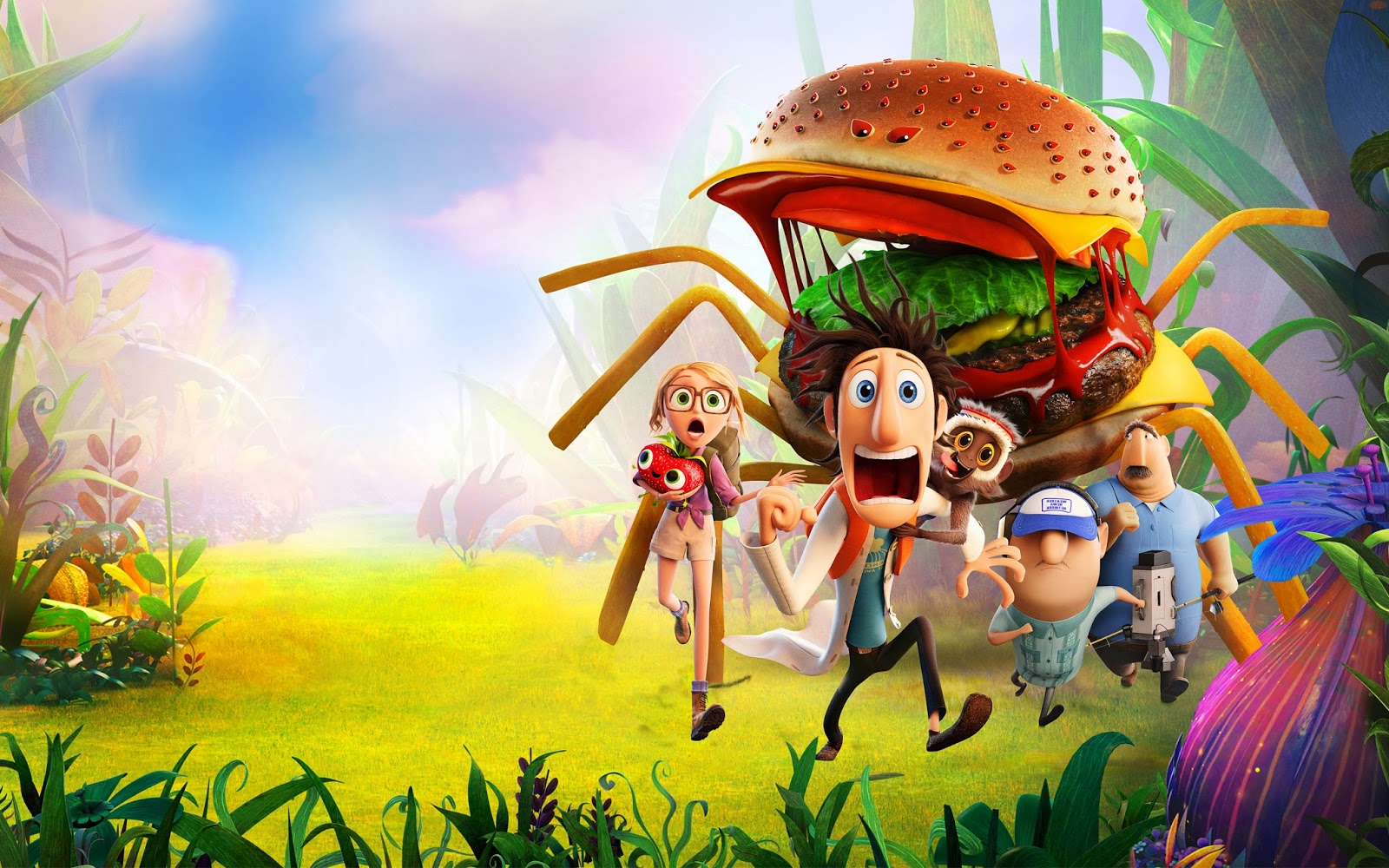 cloudy with a chance of meatballs 2 HD 720p