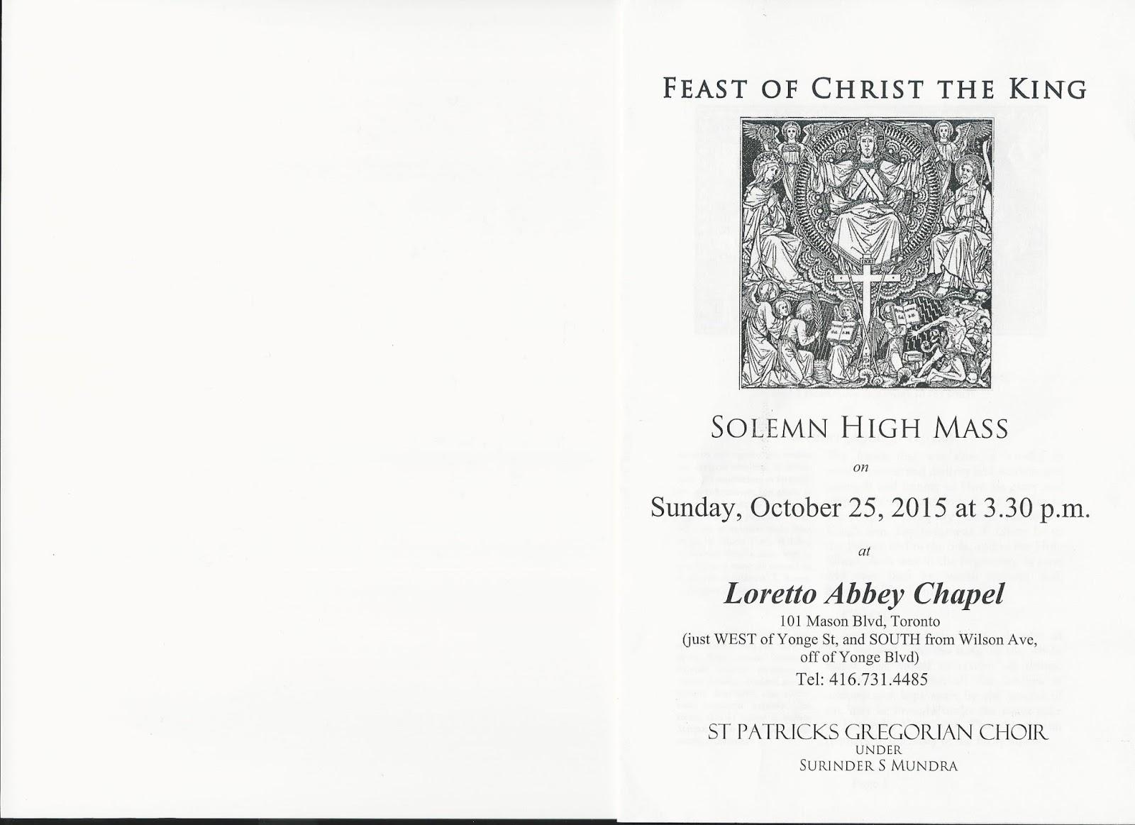 Servimus unum Deum - Latin Mass Altar Serving and Related Matters in