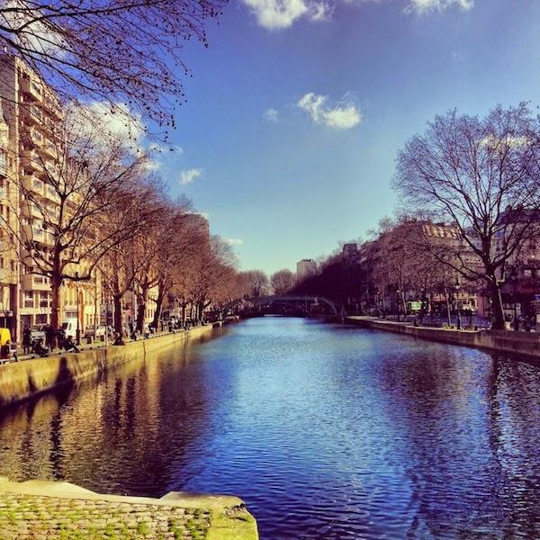 Il Canal St Martin a Parigi - foto di Elisa Chisana Hoshi