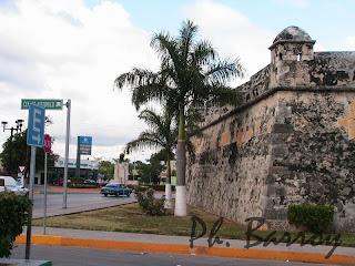 paysage du Mexique Campeche Yucatan Fort blog voyage photos