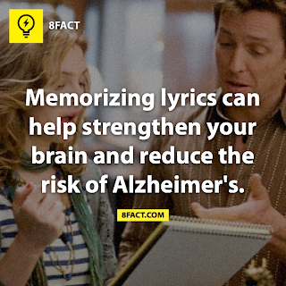 Memorizing lyrics 8facts
