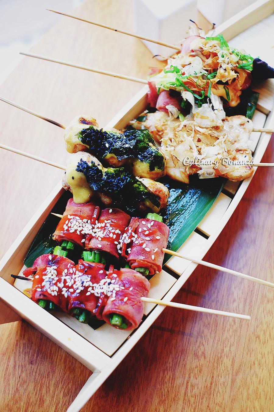 Smoky Assorted Yakitori Platter (www.culinarybonanza.com)