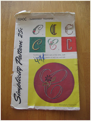Simplicity 4040C, Embroidery Transfer, Serendipity Handmade blog