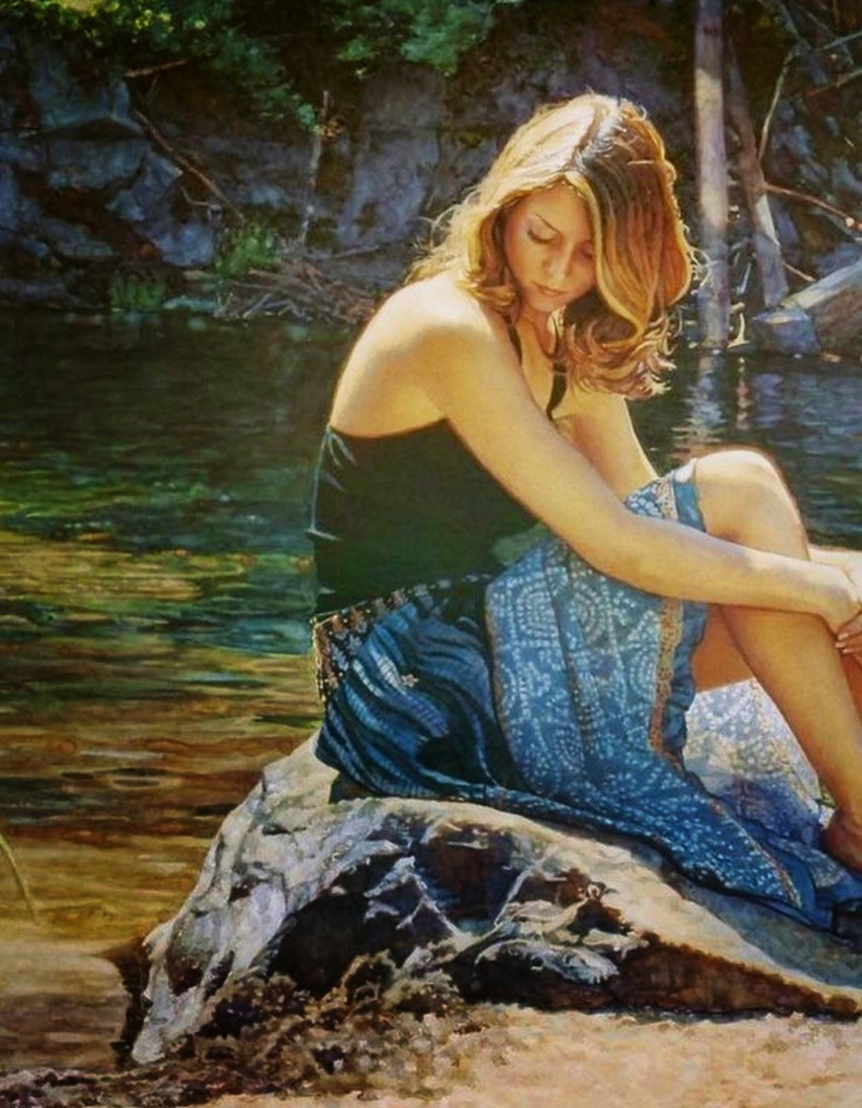cuadros-de-mujeres-en-paisajes-naturales