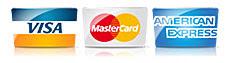 Pague con Visa y Mastercard