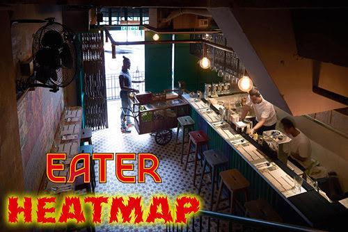 e_ting: Eater Hong Kong Heatmap - 14 hot new restaurants in Hong Kong