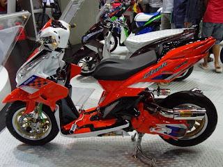 Modifikasi motor vario keren 2013